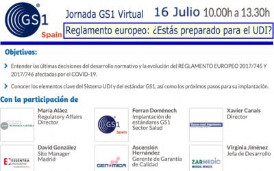 Jornada UDI online por @AECOC_es 16 Jul – 10h a 13h30 – No te las pierdas!! participa @tecno_med