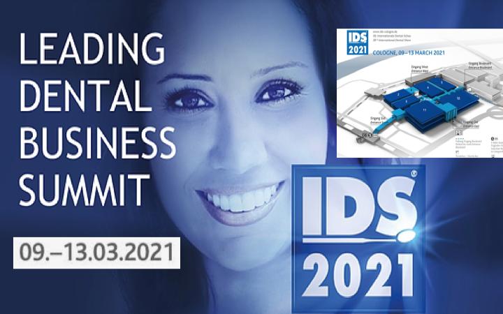 IDS 2021 – 9 a 13 Marzo Feria Dental – Colonia (Alemania) #IDScologne @FENIN_es