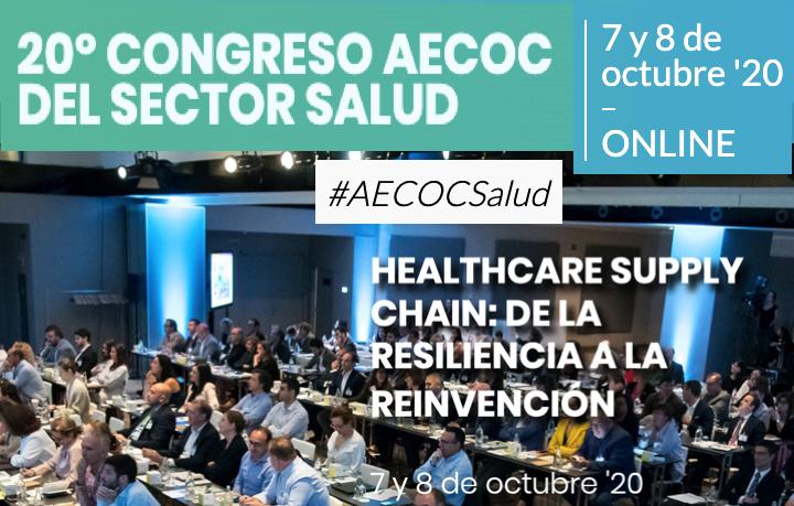 Ultimas plazas Congreso #AECOCSalud ONLINE 7-8 Oct 2020 incluye sesión UDI productos sanitarios by @AECOC_es