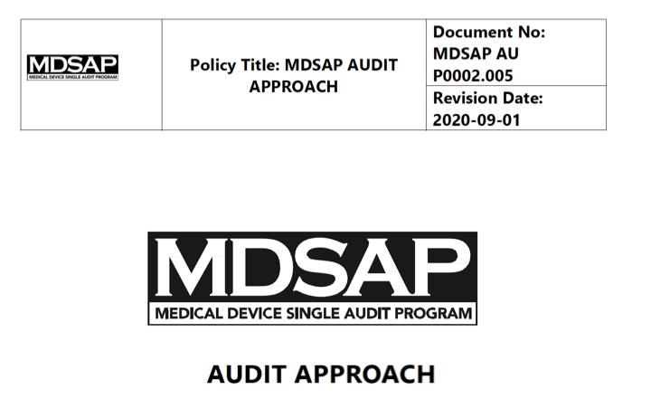 Novedades MDSAP – Nueva guía de realización de auditorias