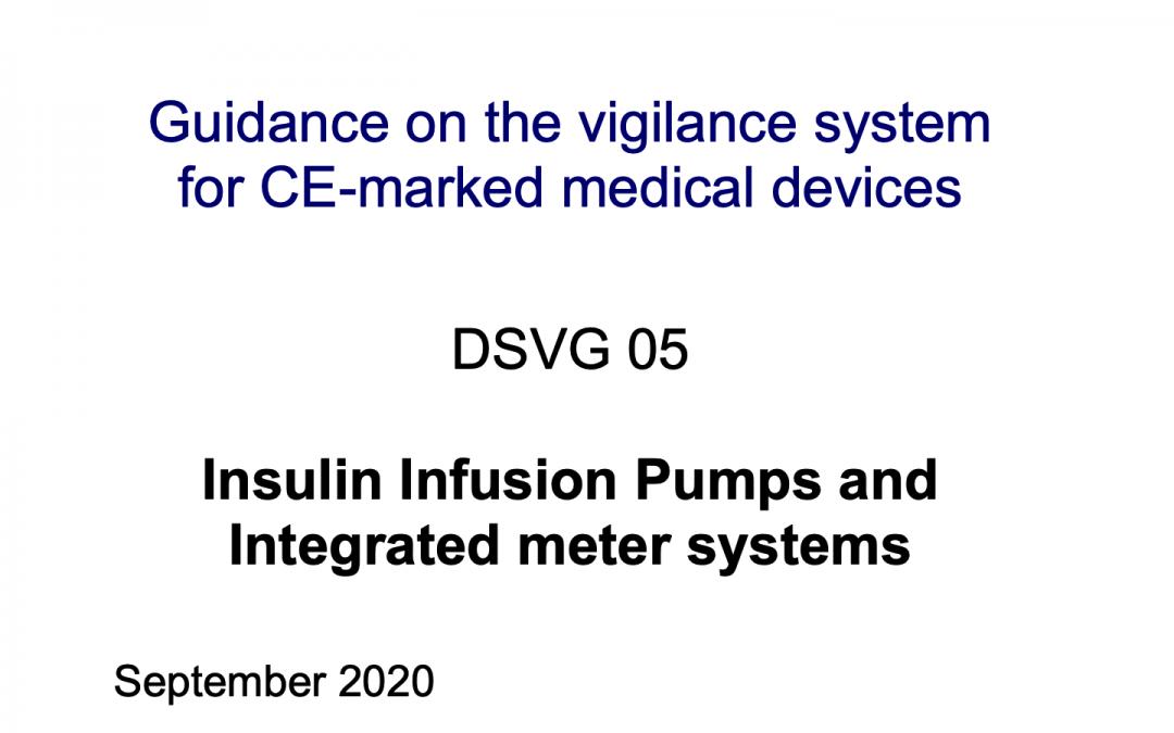 Nuevos formularios de vigilancia específicos para bombas de infusión de insulina