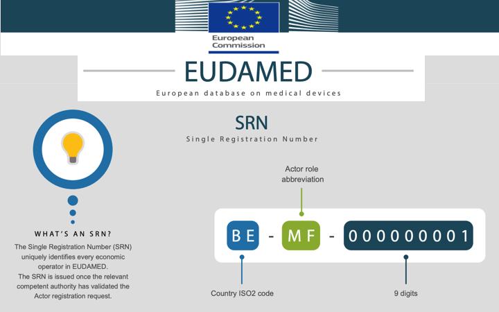 Nueva sección de la web de la Comision para la puesta en marcha 1/12/2020 del modulo de registro de actores de EUDAMED