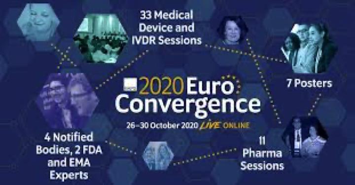 @RAPSorg «RAPS 2020 Euro Convergence» 26-30 Oct 2020 Bruselas
