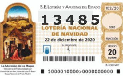 Como cada año nosotros jugamos al 13485 en la lotería de Navidad !!