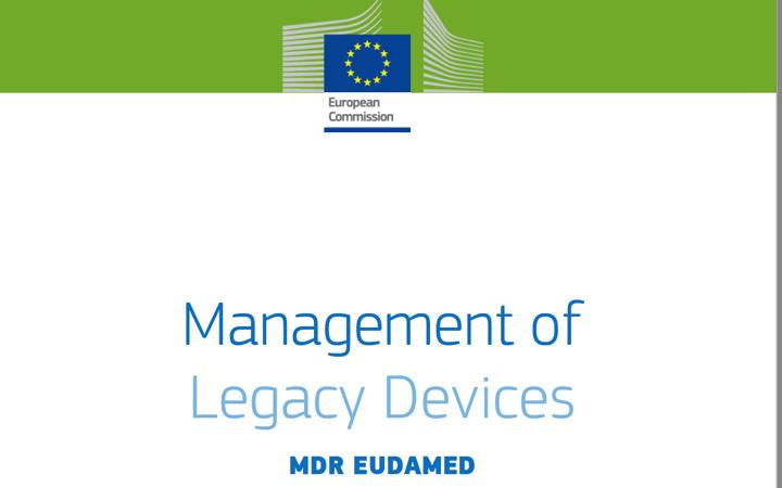 EUDAMED @EU_Health publica una nueva guía para los UDI-DI de productos con marcado CE con las directivas (legacy)