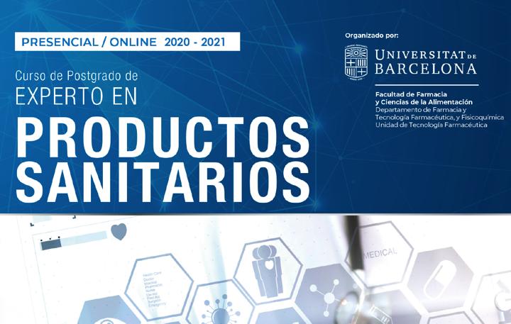 Formacion «Electromedicina, equipos analizadores de IVD e implantables activos segun MDR e IVDR» en el curso de posgrado «Experto Productos Sanitarios» 2020 @UniBarcelona