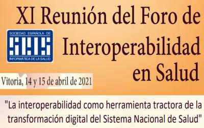 «Foro de interoperabilidad en Salud» especial programa #NewGenerationEurope by @SEISeSalud 14 y 15 abril 2021