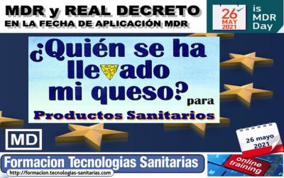 Formación «2104 – MDR y Real Decreto Productos Sanitarios en fecha aplicación MDR» – 26 Mayo 2021 9h-14h