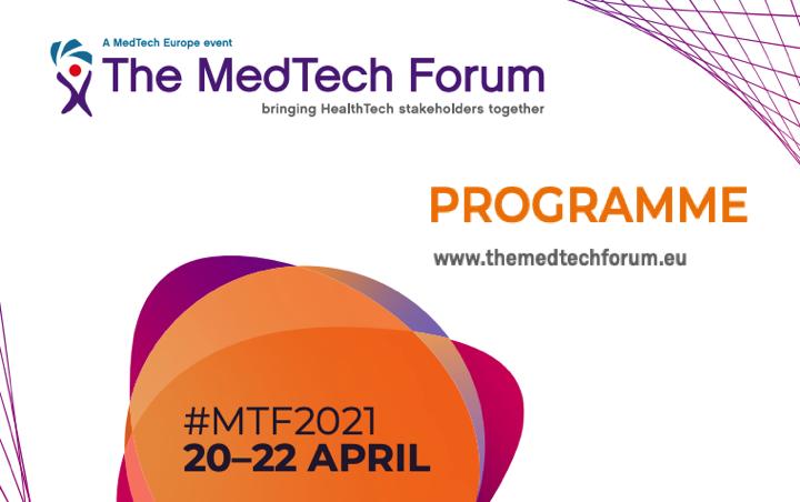 @MedtechEurope ( @FENIN_es ) organiza el Forum #MTF2021 20-22 abril 2021