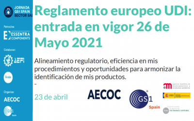 Jornada UDI online por @AECOC_es 23 Abril – 10h a 13h30 con la colaboración de @AEMPSgob y @FENIN_es