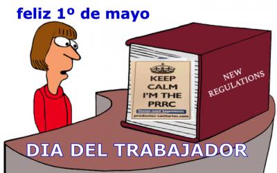 Feliz dia del trabajador – 1 de Mayo – agentes económicos productos sanitarios