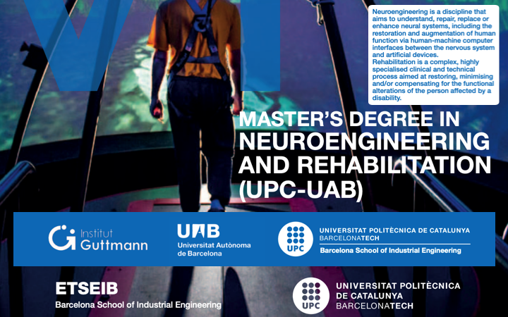 Formacion «Requisitos marcado CE(MDR), FDA y Gestión Riesgos ISO14971 de equipos y software médico en Neuroeng y Rehab» en el master «Neuroengineering and Rehabilitation» 2021 @UniBarcelona – @la_UPC – @IGuttmann