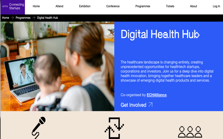 Organizado por @4YFN_MWC se inicia el «Digital Health Hub» en el MWC de @GSMA